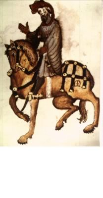 The Knight from Ellesmere manuscript.