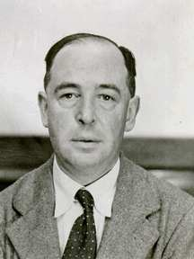 CS Lewis. Date and source unknown.