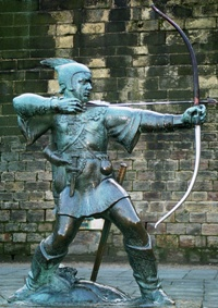 Photo Source: http://commons.wikimedia.org/wiki/File:Robin_Hood_Memorial.jpg