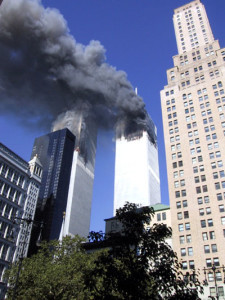 Sept 11, 2001 Attack. Source unknown.