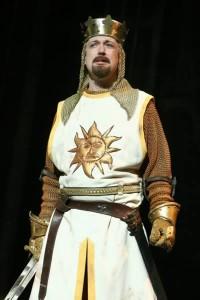 Spamalot King Arthur 2008