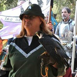 image of Terry Lockwood, Presenter / Falconer