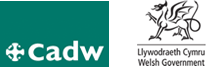 logo for Cadw Welsh Assembly Government Historic Preservation Division