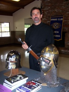 image of Scott Farrell speaks at Kiwanis Club
