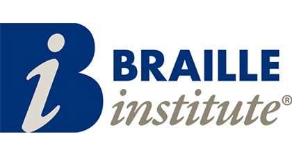 logo for San Diego Braille Institute