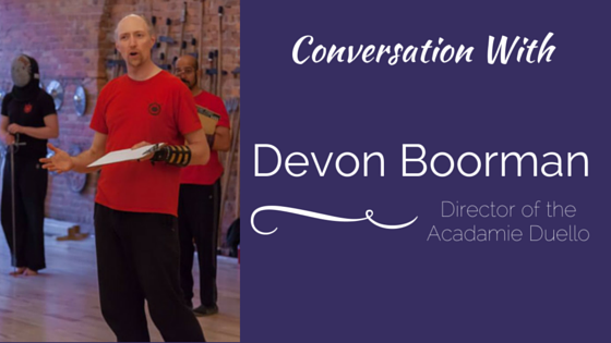 Conversation With Devon Boorman