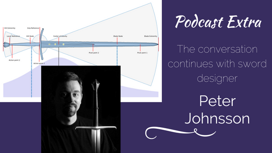 Podcast Extra: Peter Johnsson on Swords