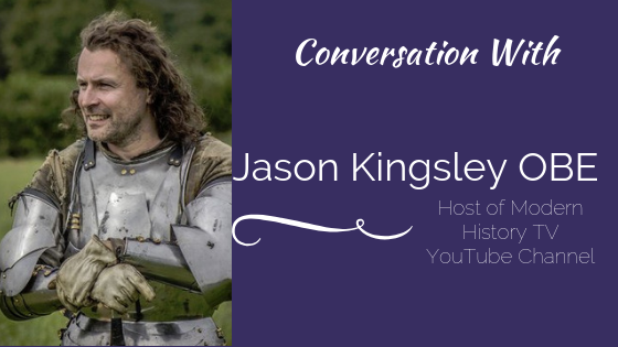 Conversation with Jason Kingsley OBE