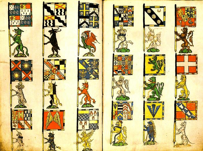 Heraldic-Banners-knights